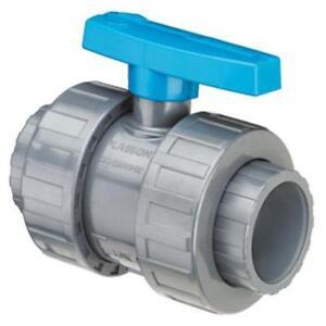 Valvola-di-chiusura-a-Sfera-Sferico-PVC-pressione-da-incollare-Diametro-90