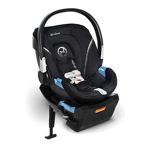 Cybex Aton 2 Gold Sensor Safe Infant Car Seat- Lavastone Black Baby Car Seat