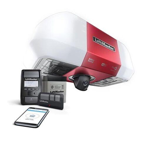 Liftmaster 85503 Battery Backup Belt Drive WiFi W/ Integrated Camera - NO RAILS