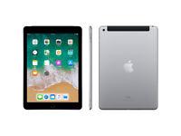 Apple iPad 6th Gen 32GB Wi-Fi+4G (Unlocked) 9.7in S.Grey A+ Grade