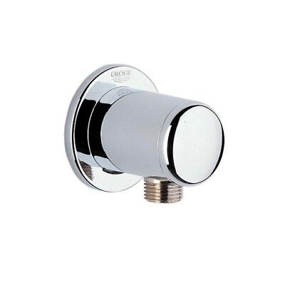 Relexa Series Shower Outlet Elbow, Chrome Finish Wall Union - Shower Wall Union