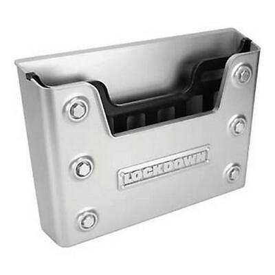 Lockdown Large Document Holder for Gun Safes Silver 222166