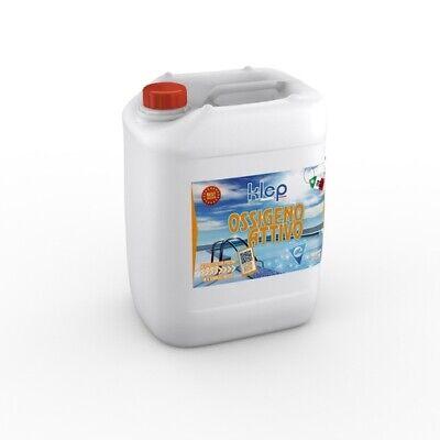 Oxígeno Líquido Activo 5 Litros Tratamiento Agua Piscina KLE068