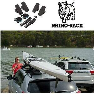 NEW RHINO RACK SIDE LOADING CARRIER 580 248802492 CAR CROSSBAR MOUNT CANOE KAYAK