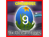 adopt ocean egg x9