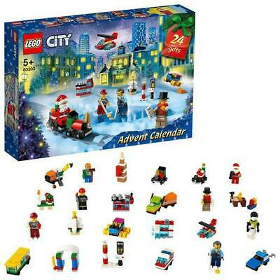 2021 LEGO CITY Advent Calendar 60303 24 Doors to Open 349 Pieces new and sealed