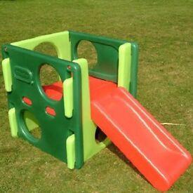 Little Tykes Junior Activity Gym (Evergreen) As New