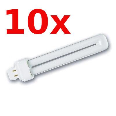 10x Lampada Fluorescente Compatta 18W 840 4-Pin G24q-2 Bianco Freddo 10-Stück comprar usado  Enviando para Brazil