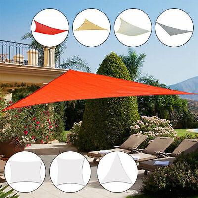 Sonnensegel Sonnenschutz Sonnendach Dreieck Rechteck Quadrat 2 Stoffart 5 Farben