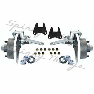 Mechanical-Disc-Brake-HALF-Kit-5-or-6-STUD-4WD-Landcruiser-Trailer
