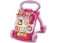 Vtech pink baby walker