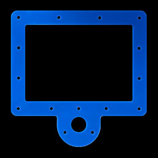 BLUE WHALE Navy Grip Seal – Skimmer Box Gaskets (2), fits Hoffinger Pool Liners Home & Garden