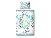 Disney Frozen Olaf single bed set. New and sealed