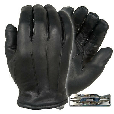Damascus DLD40 Men's Black Thinsulate Lined Leather Dress Gloves - Size X-Large