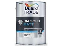 Dulux trade diamond Matt brand new unopened