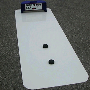 Tape 2 Tape Pass and Stick handling Training Aid
