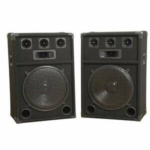 A Pair (2x) 15inch Party Speakers Ferny Creek Yarra Ranges Preview