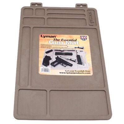 Lyman 04050 Gray  Essential  Gun Maintenance Rubber Mat Chemical Resistant