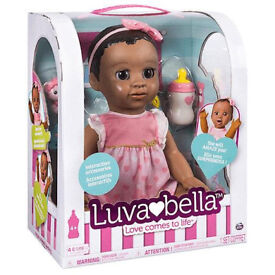 Luvabella African American Doll - MAY Deliver- Brand New & Sealed