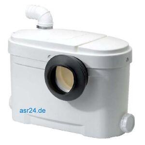 Setma Hebeanlage Aquasan für WC + 2 weitere Einläufe...!