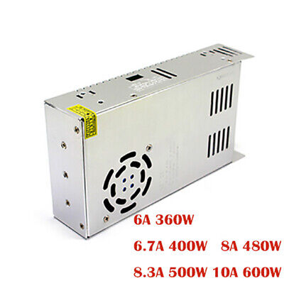 Dc60v 6-10a Single Output Switching Power Supply Ac To Smps For Cnc Led Strip Xn