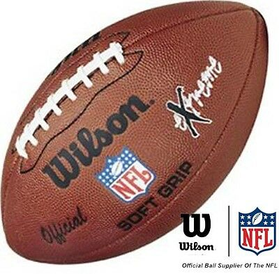 WILSON NFL EXTREME Official American Football Ball Soft Grip NEW