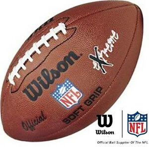 WILSON-NFL-EXTREME-Official-American-Football-Ball-Soft-Grip-NEW