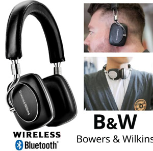 NEW BOWERS & WILKINS P5 WIRELESS BLUETOOTH HEADPHONES - BLACK