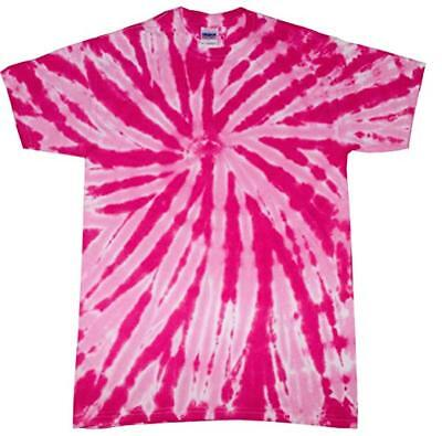 Pink Twist TIE DYE T-SHIRT mens womens SIZE  M  XL 2X  3X