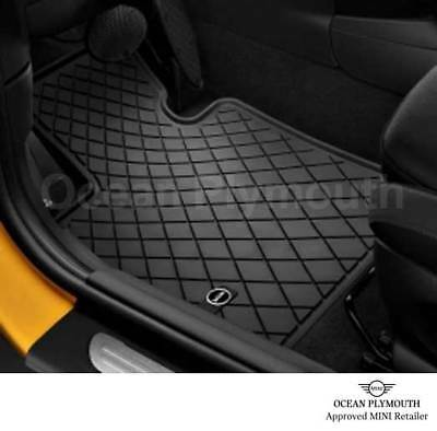 Genuine MINI All Weather Front Floor Mats F55 F56 F57   51472354156