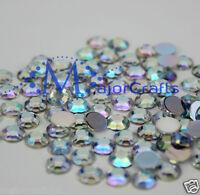 100pz Cristallo Ab 12mm Retro Piatto Spesso Taiwan Perline Acriliche Craft Gemme -  - ebay.it