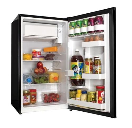 Haier Compact Refrigerator 3.3 Cu Ft Freezer Fridge Mini Dor