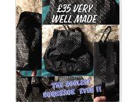 Coolest Black bag / rucksack ever