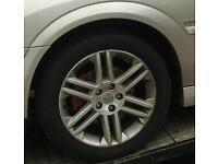Vectra alloy wheels all good condition