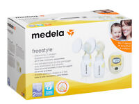 Medela Freestyle Double Electric Breast Pump with Calma... **BRAND NEW & UNOPENED**