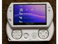 SONY PSP GO PORTABLE PLAYSTATION IN PEARL WHITE BOXED