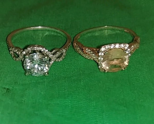 Two Size 10 Rings