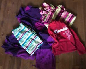 Girls Fleeces in many sizes from sz 6-sz10