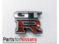 Nissan Skyline R34 GTR Hood Emblem 65892-AA000 JDM Genuine OEM NEW