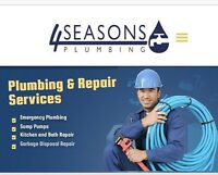 Plumbing services by Licensed and Insured Master Plumbers