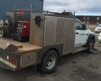 Dodge 4500 Pickup Truck with Welding Deck