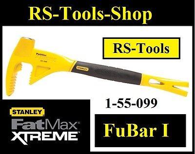 Stanley FatMax XL FuBar I 1 Nageleisen 1-55-099 Abbruch Brechstange Werkzeug