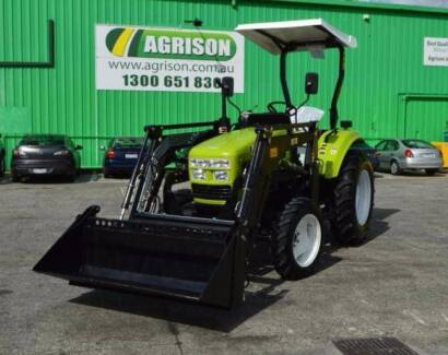 Agrison 55HP Ultra G3 Tractor 2017 Model + 6ft Slasher and More