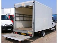 Van Man Courier / From £25 per hour / Box Van With Tail Lift / Office / House Moves / 07791581741
