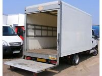 Removal Man Courier / From £25 per hour / Box Van / Tail Lift / Office, House Moves / 07791581741