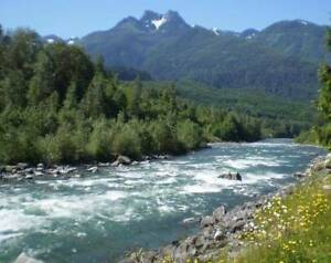 Affordable weekly cabin rental by river for April/May $400/week