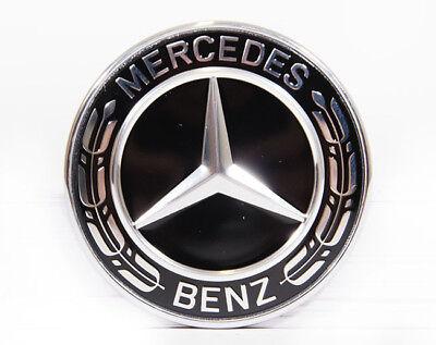 Original Mercedes Benz Emblem Motorhaube schwarz GLA 156 auch AMG, A0008171801