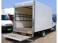 Luton Van & Truck Hire Nationwide Short & Long Distance Transportation Man Moving Bike//Removals////