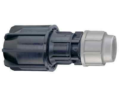 Plasson 25mm x 15mm - 22mm other pipe universal coupling. Plass4 MDPE
