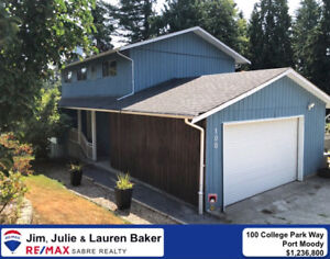 5 Bedroom/ 4 Bath Home in Port Moody! Open House Sunday 2-4